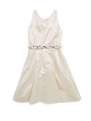 Girl's Flared Dress
