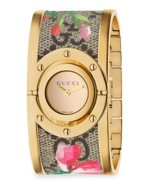 Twirl Blooms Bangle Watch