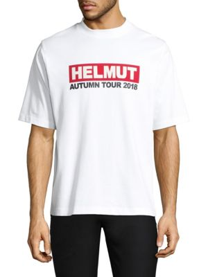 Concert Cotton Tee by Helmut Lang