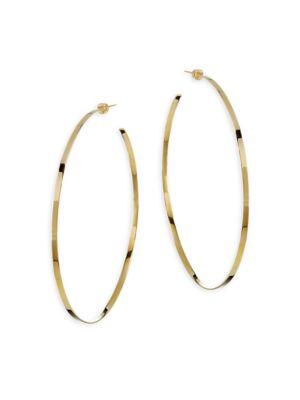 Jennifer Yellow Vermeil Hoop Earrings