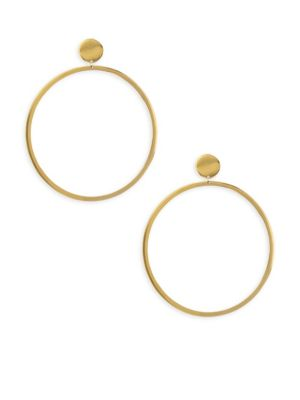 18K Yellow Vermeil Cleo Earrings