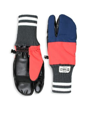 EVOLG Colorblock Touch Screen Gloves