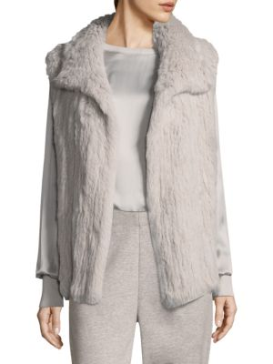 Fapin Rabbit Fur Vest