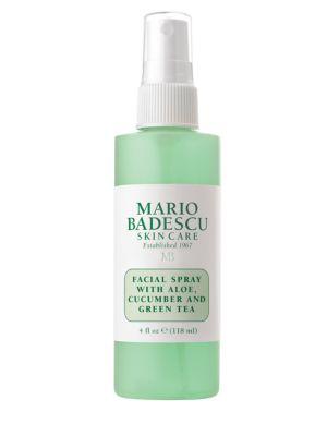 Facial Spray with Aloe, Cucumber and Green Tea/4 oz.