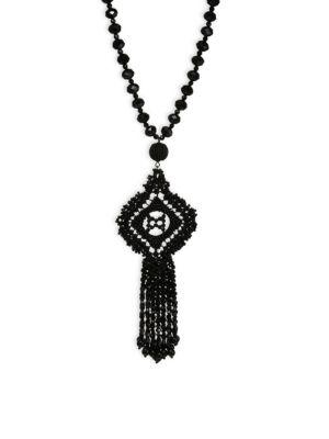 Lace It Up Pendant Necklace