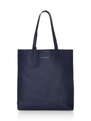 Logan Vertical Leather Tote