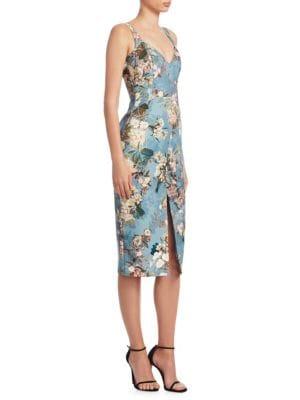Arielle Floral-Print Dress