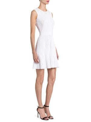 Knit Fit-&-Flare Dress