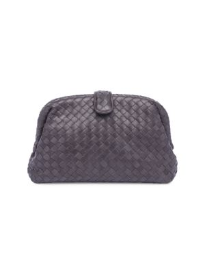 Nappa Woven Leather Clutch 0400095897941