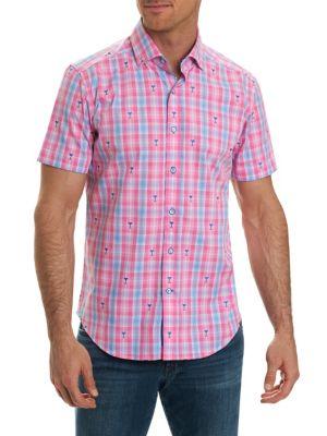 Tartan Print Short-Sleeve Shirt