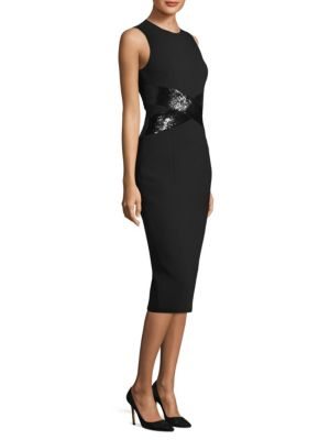 Sequin Crisscross Dress