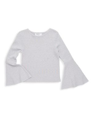 Girl's Sparkle Pullover Top
