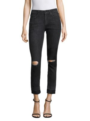 DEVI ANKLE HIGH-RISE AUTHENTIC SKINNY IN GRAY