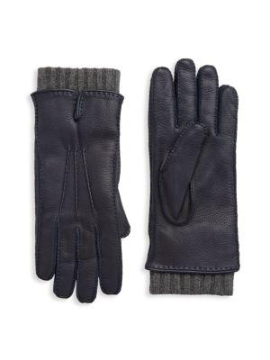 Stirling Leather & Cashmere Gloves