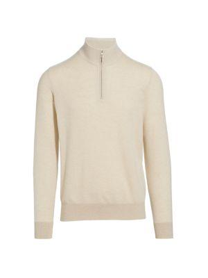 Roadster Cashmere Half Zip Sweater