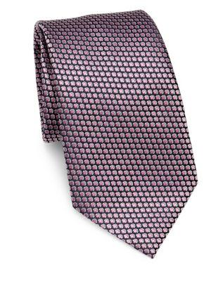 Silk Scale-Print Tie