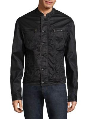 Tonal Stitch Denim Jacket