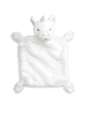 Baby's Unicorn Faux Fur Security Blanket