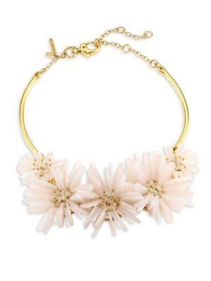 Floral Bouquet Frontal Necklace
