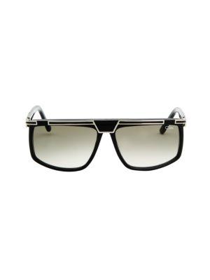 CAZAL   Oversized Bar-Top Sunglasses   Goxip