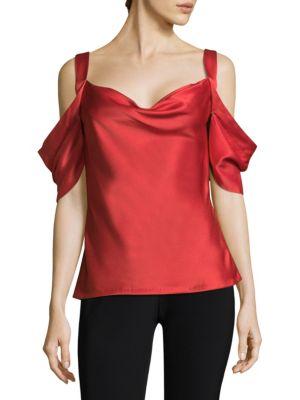 Jason Wu Woman Asymmetric Cold-shoulder Printed Cotton-sateen Top Navy Size 6 Jason Wu Wiki Free Shipping Online HLo6KxPNG5