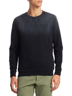 KENT AND CURWEN Hutto Crewneck Cotton Sweatshirt