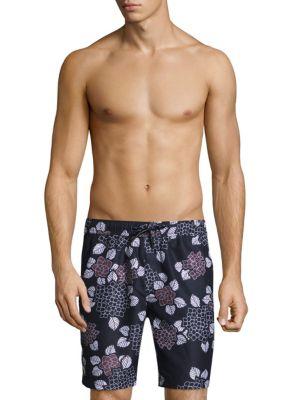 Floral Dream Beach Shorts