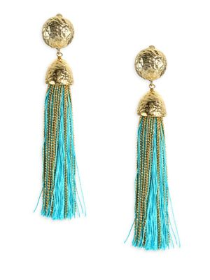 Corda Tassel Earrings