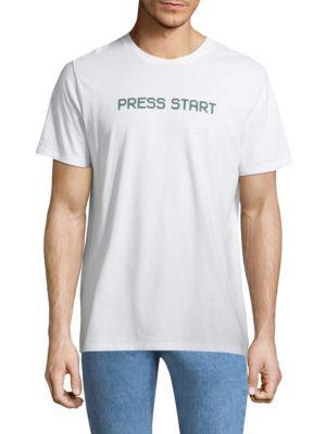 Press Start Cotton Tee