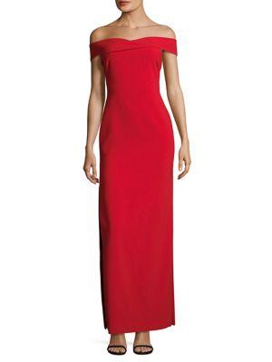 Darrah Off-The-Shoulder Gown