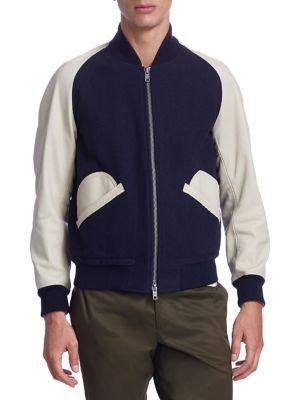 KENT AND CURWEN Langley Raglan Sleeve Jacket