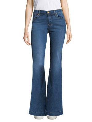 Dojo Faded Flared Jeans