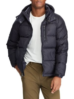 Hooded Ripstop Down Jacket