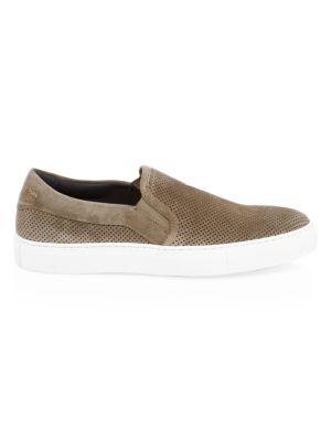 Buelton Slip-On Leather Sneakers