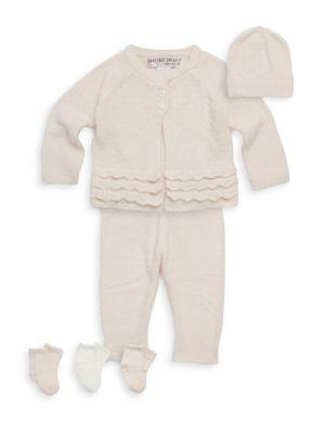 Baby's Six-Piece Heirloom Top, Pants, Hat & Socks Set
