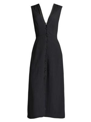 Layered Lace-Up Dress