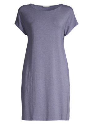 Natural Elegance Short-Sleeve Nightgown