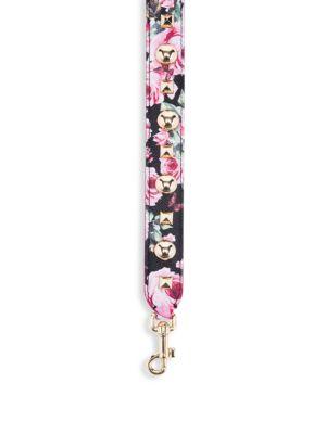 Floral Strap Bag Charm