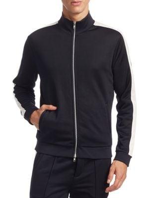 Front Zip Track Jacket