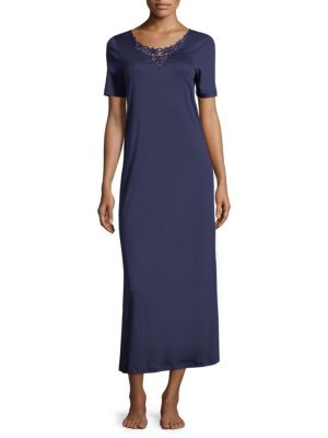 Jasmin Short-Sleeve Nightgown