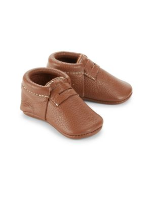 Baby's Slip-On Leather Penny Loafers
