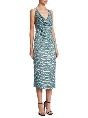 Yvette Sequin Pencil Dress
