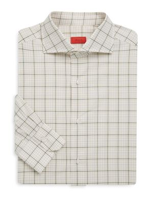 Regular-Fit Cotton Dress Shirt