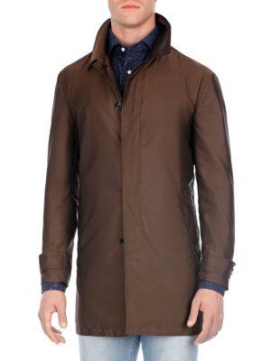 Mid-Length Raincoat
