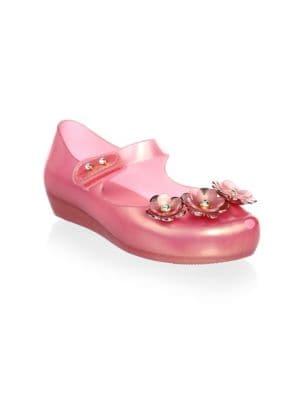 Toddler's & Girl's Mini Ultragirl Flower Shoes