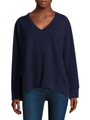 Side Slit Sweatshirt