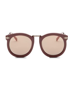 Super Luna 53MM Round Sunglasses