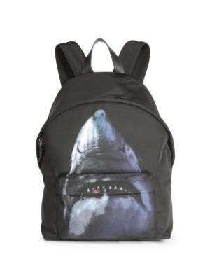 Shark Print Backpack