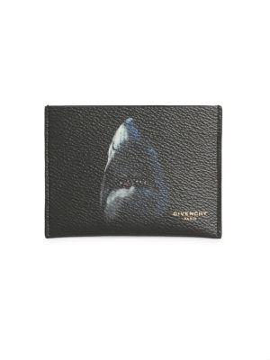 Shark Leather Card Case