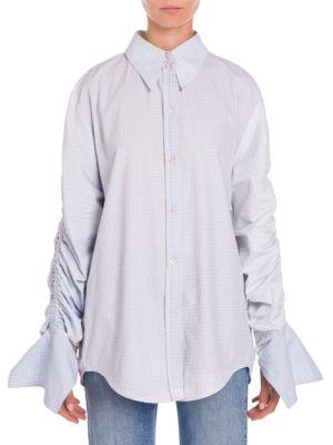 Thandie check shirt